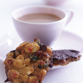 Luxury Florentines from the Dairy Diary 2010