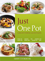 Just One Pot, Dairy Cookbook