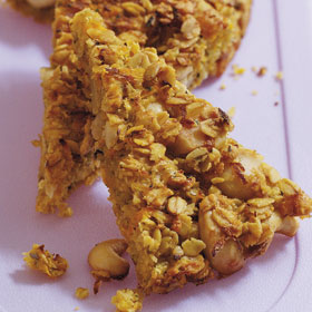 Cheesy Flapjacks