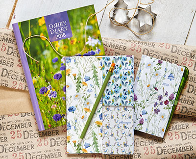 Dairy Diary Set 2018 – the perfect Christmas gift