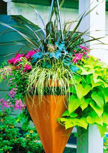 Foliage Fountain from Seasonal Garden Ideas