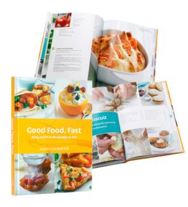 Win a copy of Good Food, Fast Dairy Cookbook