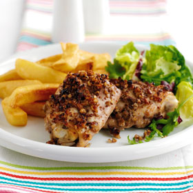 Pecan Chicken from the 2011 Dairy Diary