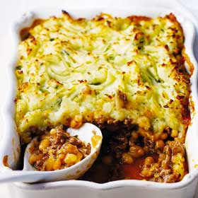 Quick Cottage Pie from the Good Food, Fast: Dairy Cookbook