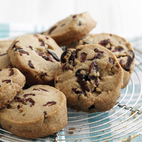 Cranberry & Cinnamon Cookies