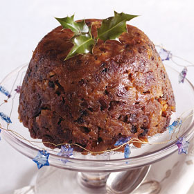 Kent Plum Pudding from Around Britain Dairy Cookbook