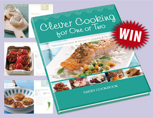 Win a copy of Clever Cooking for One or Two