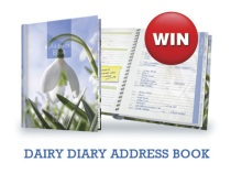 Win a Dairy Diary Address Book