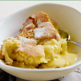 Eve's Pudding from The Dairy Book of Home Cookery