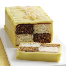 Coffee Battenberg from Dairy Diary 2011