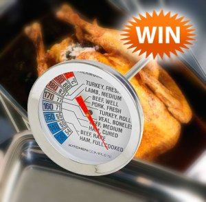 Win a Meat Thermometer with Dairy Diary