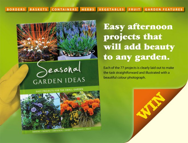 Win a copy of Seasonal Garden ideas