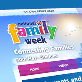 National Family Week website