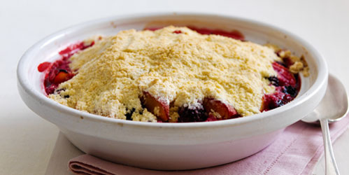 Fruit Crumble from The Dairy Book of Home Cookery | 2012 edition