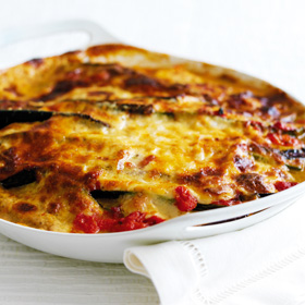 Vegetarian Moussaka-style Bake