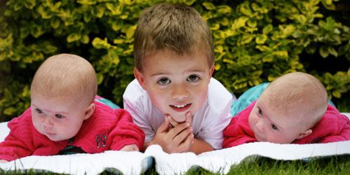 Jasmine, Isaac and Maisy