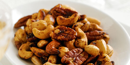 Sweet Spicy Nuts | A Dairy Diary 2012 recipe