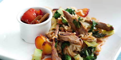 Duck with Plum Sauce recipe from Just One Pot