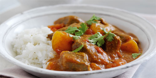 Slow Beef Curry recipe from Dairy Diary 2012