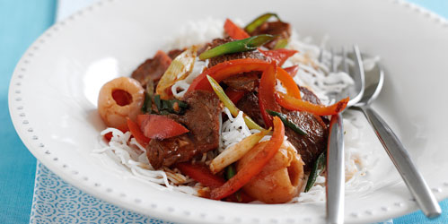 Sweet and Sour Lamb recipe from the Dairy Diary