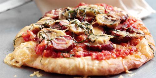 Soda Bread Pizza