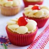 Cherry Cupcakes recipe