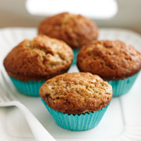 Banana and Cinnamon muffins recipe