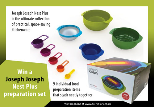 Win a Joseph Joseph Nest Plus 9 piece preparation kit