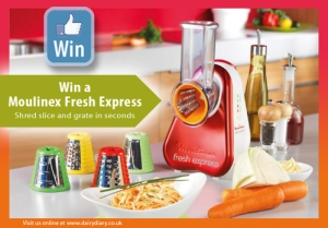 Facebook competiition | Win a Moulinex Fresh Express