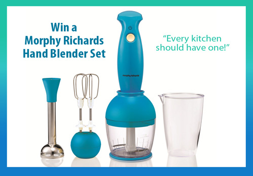 Win a Morphy Richards Hand Blender Set