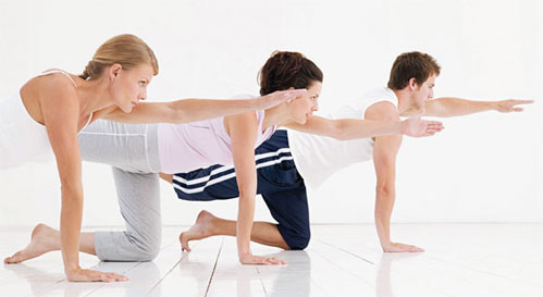 Pilates power and keeping fit this winter
