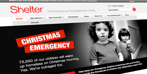 Shelter Christmas Emergency