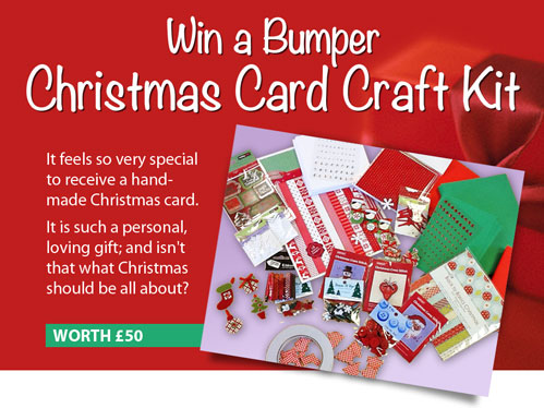 Win-a-Christmas-card-craft-kit