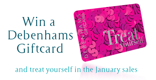 Win a Debenhams Giftcard