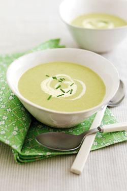 Creamy Leek & Potato Soup
