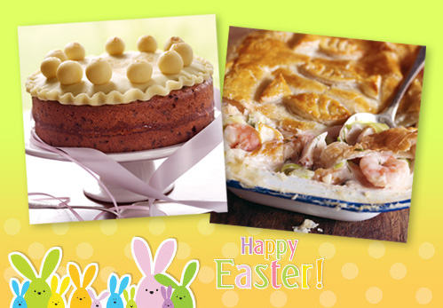 Easter recipes from Dairy Diary