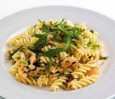 Summer Herb & Smoked Salmon Pasta recipe
