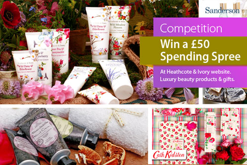 Competition | Win a £50 spending spree at Heathcote & Ivory