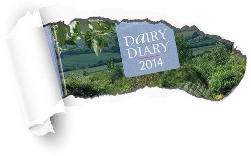 A sneak preview of the 2014 Dairy Diary
