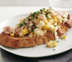 Creamed-Corn-&-Ham-Scramble-recipe