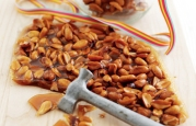 Crunchy Peanut Brittle recipe