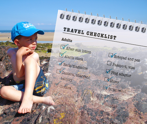 Holiday Checklist | Travel Checklist