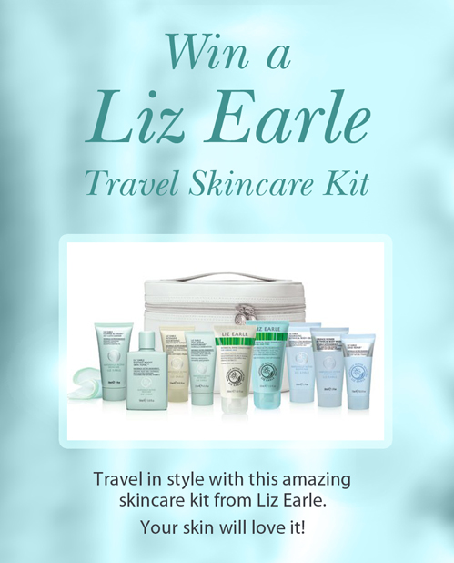 Win a Liz Earle Travel Skincare Kit