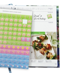 Dairy Diary 2014 with memorable date stickers