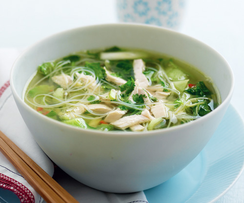 Spiced Chicken & Noodle Soup