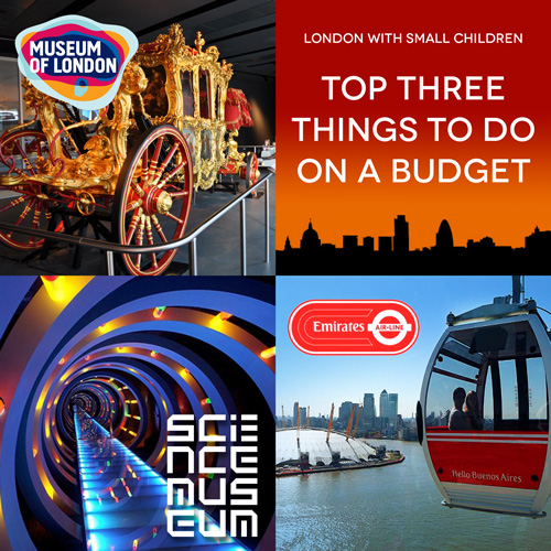 London with Small Children – Top Three Things to Do on a Budget