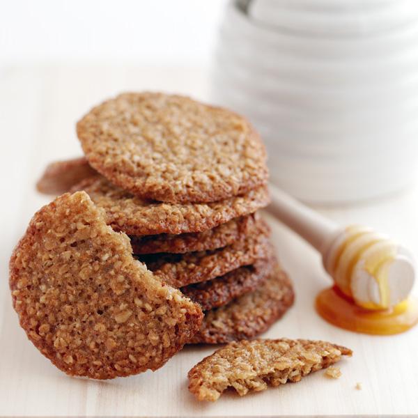 Honey Flapjack Cookies