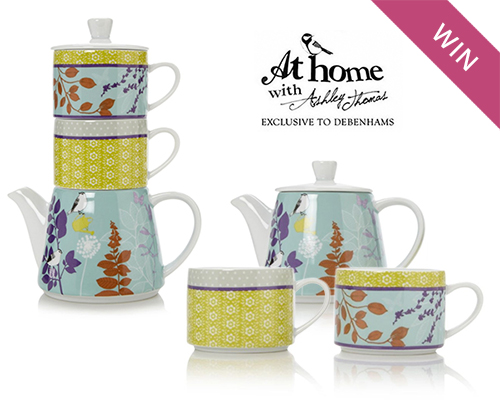 Win an Ashley Thomas Tea Set