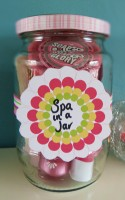 Fabulous Five Minute Gift: Spa in a Jar