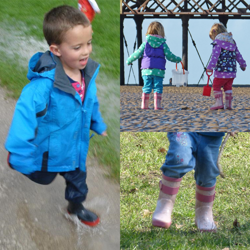 Wellies - the best thing you can ever buy for your child